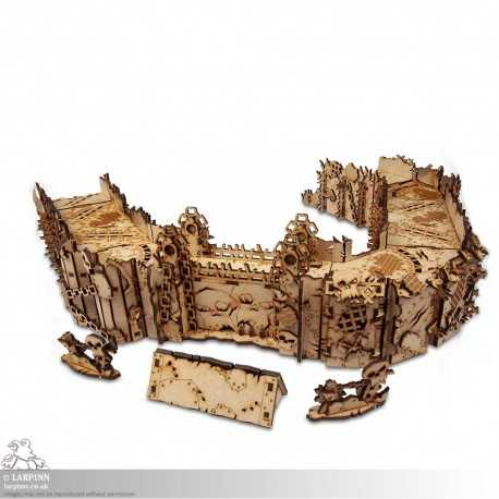 Tabletop Scenics - Orc Stronghold - MDF Terrain