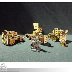 Tabletop Scenics - Orc Guns - MDF Terrain