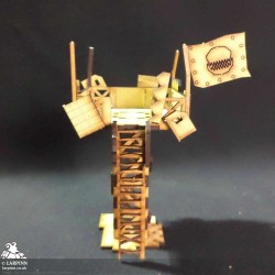 Tabletop Scenics - Orc Watchtower - MDF Terrain