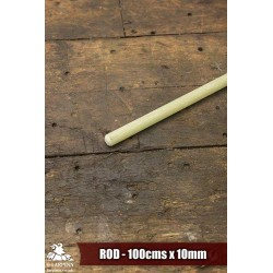 Fibreglass Core - Rod - 100cm x 10mm