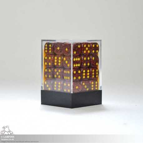 Dice Block - 36 Speckled Mercury Six Sided D6