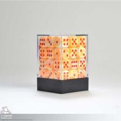 Dice Block - 36 Festive Sunburst Six Sided D6
