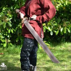 Stuart Long Sword Scabbard - Single Edged - Full Scabbard
