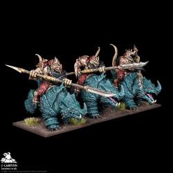 Salamander Rhinosaur Cavalry Regiment - KOW