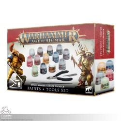NEW Warhammer Sigmar: Paints & Tools Set