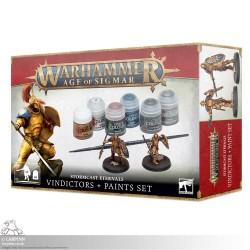 Warhammer Sigmar: Vindicators & Paints Set
