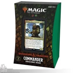 MTG Adventures in the Forgotten Realms - Draconic Rage Commander Deck