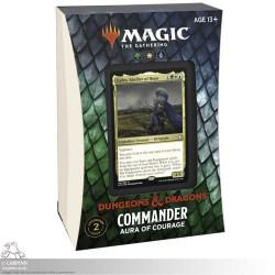 MTG Adventures in the Forgotten Realms - Aura of Courage Commander Deck