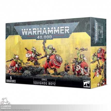 Warhammer 40,000: Orks - Squighog Boyz