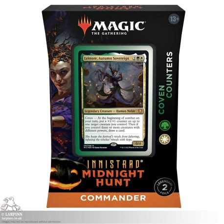 MTG Innistrad Midnight Hunt - Coven Counters Commander Deck