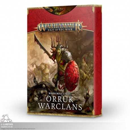 Warhammer Sigmar: Warscroll Cards - Orruk Warclans