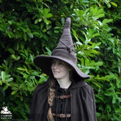 Woollen Wizard Hat - Brown