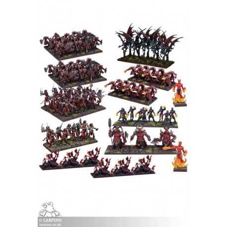 Forces of the Abyss Mega Army - KOW