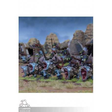 Goblin Fleabag Rider Regiment - KOW