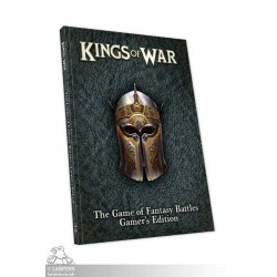Kings of War 3rd Edition Gamers Rulebook Softback