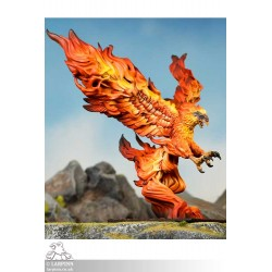 Basilean Phoenix Epic Monster - KOW