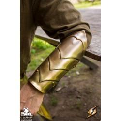 Illumine Bracers - Brass