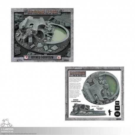 Battlefield in a Box - Gothic Ruined Fountain