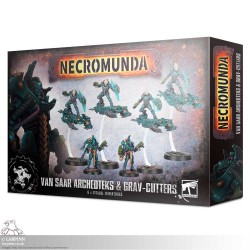 Necromunda: Van Saar Archeoteks & Grav-Cutters