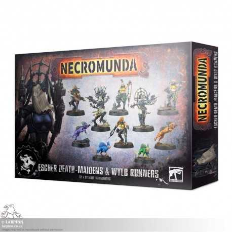 Necromunda: Escher Death-maidens and Wyld Runners