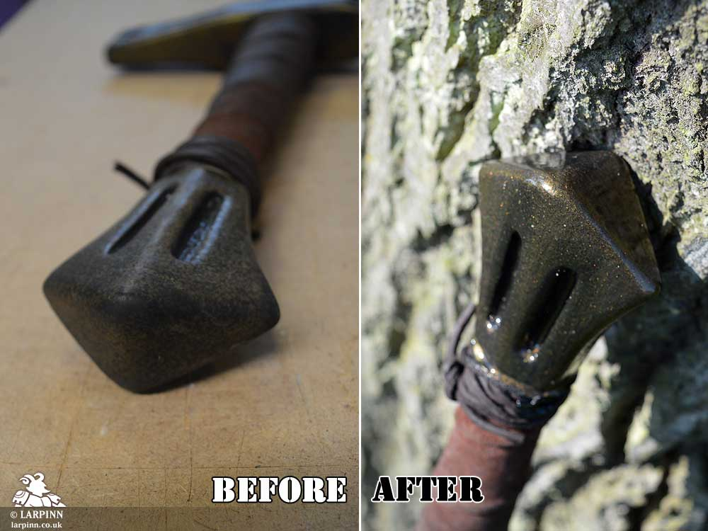 Sword Pommel Repair