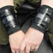 Custom made leather cuffs