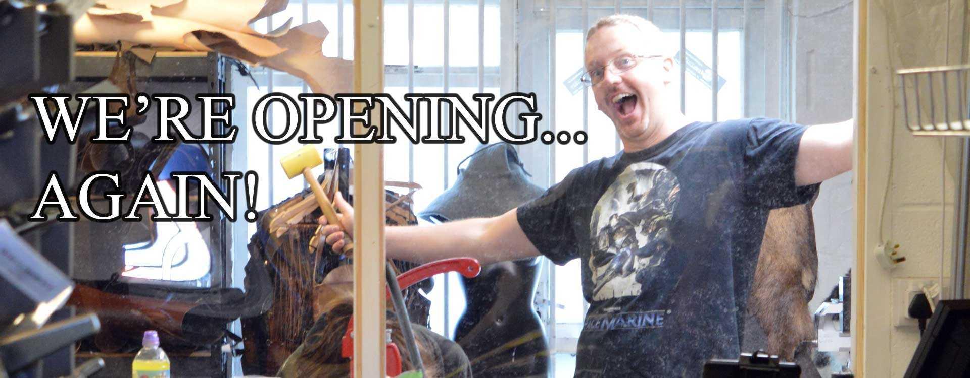 Reopening the Larp Inn Showroom